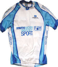 Shortsleeved cycling jersey